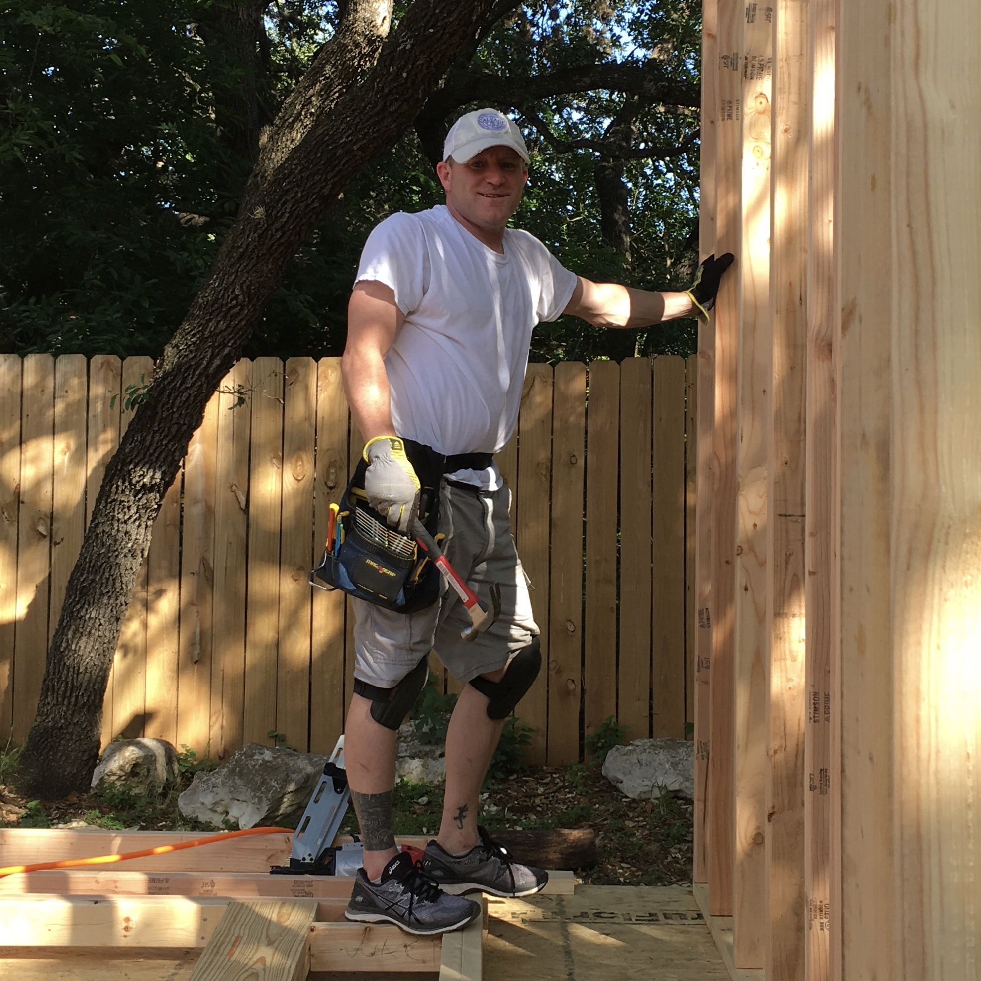 Building a tiny house in our back yard - Austin, Texas